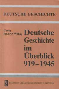 Deutsche Geschichte im Überblick 1919-1945